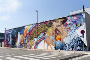 Mural Comunicació, gunayador del premi del jurat del TSAF 2021