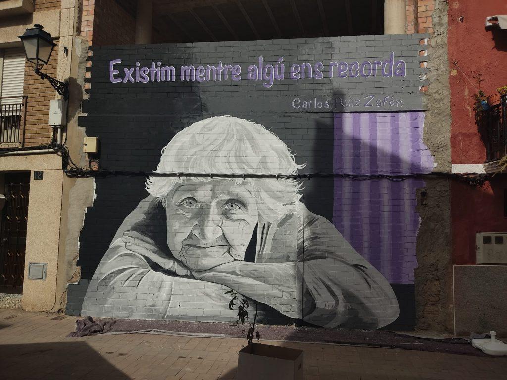 Mural de Txus Montejano a Torrefarrera